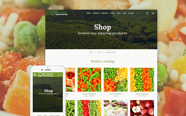 Agricultural Bootstrap Template