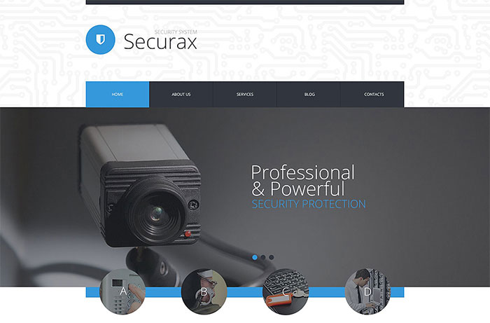 Security WordPress Template