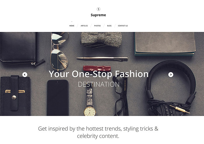 Fashion WP Theme