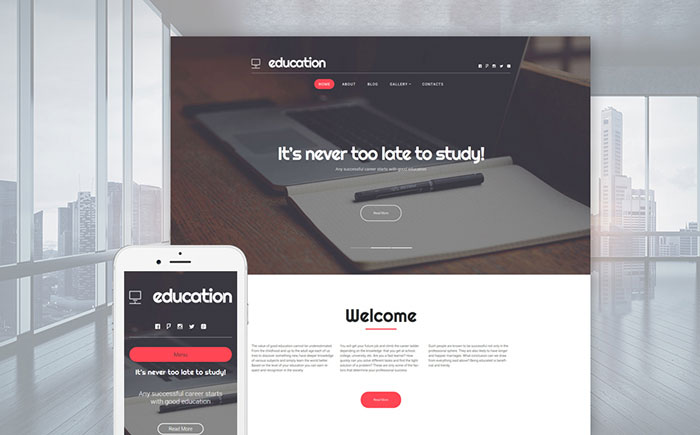 Education Services WP Theme