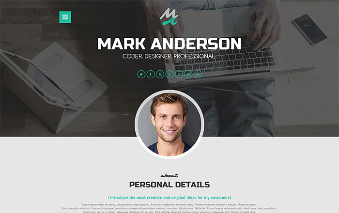 HighClass Portfolio WordPress Theme