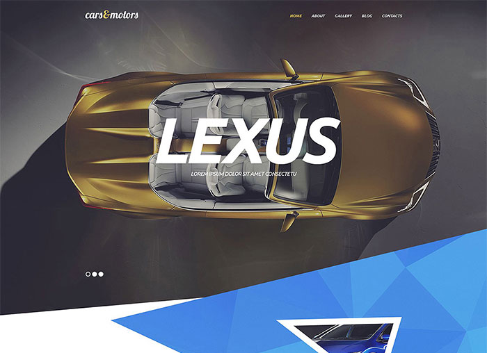 Car Dealers WordPress Theme