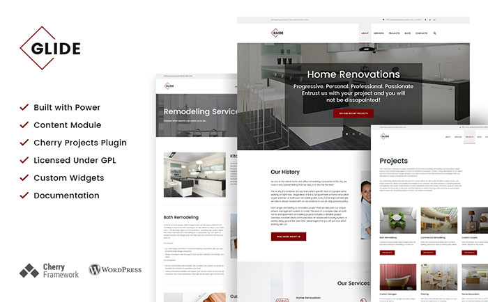 Home Remodeling Contractor WordPress Theme