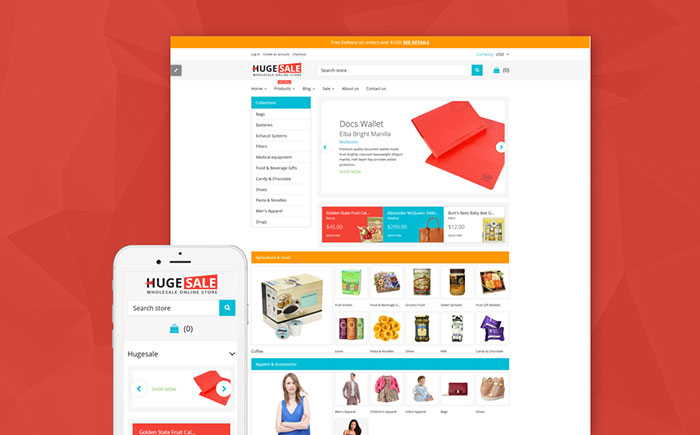Wholesale Warehouse Shopify Theme