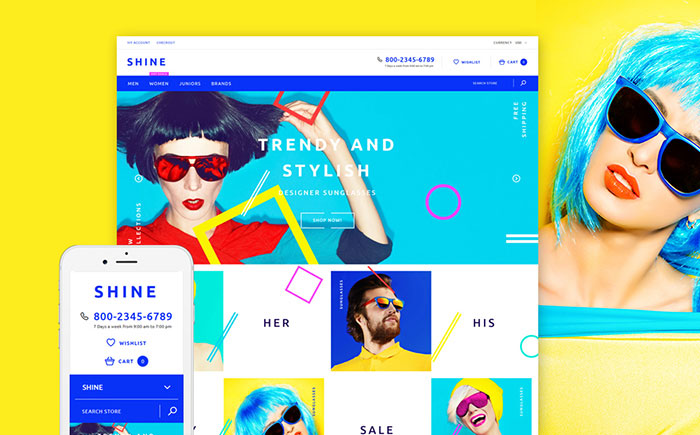 fashion eyewear Shopify theme