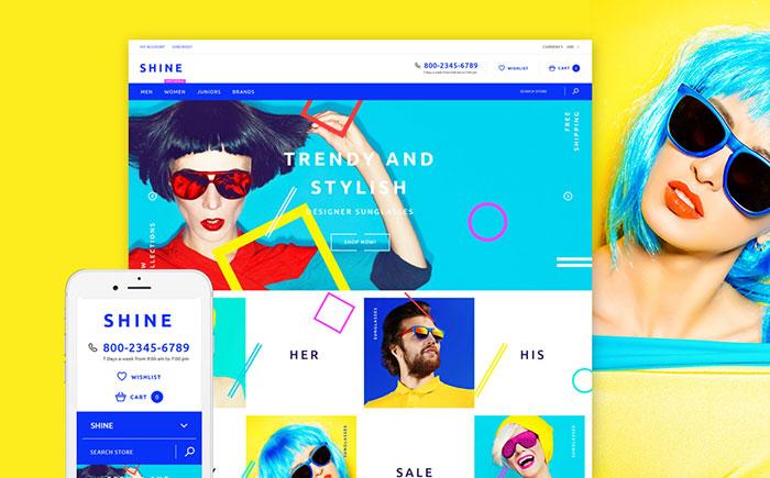fashion eyewear Shopify theme