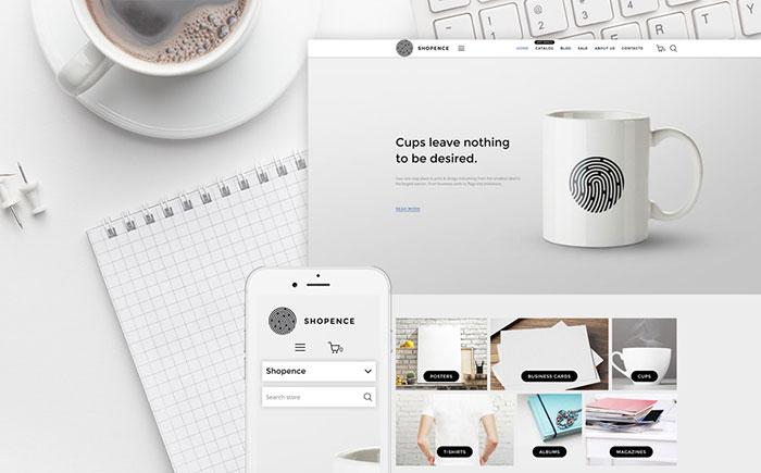 Printing Company Shopify Theme