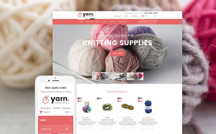 Knitting Shopify Theme