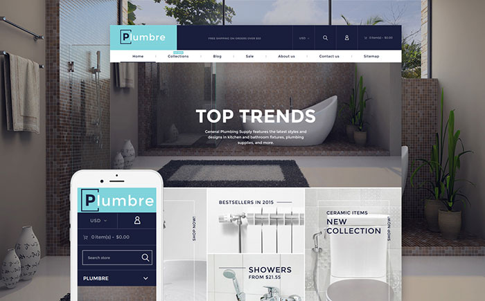 Plumbing Supply Shopify Theme