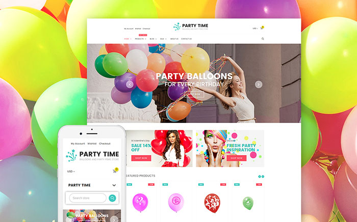 Entertainment Shopify Template