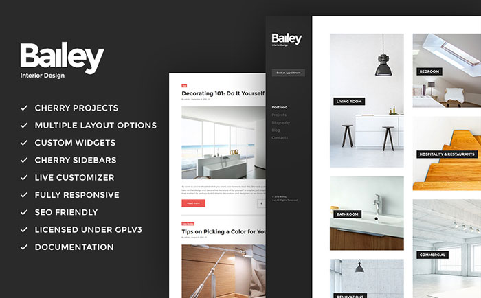 Interior Design WordPress Theme