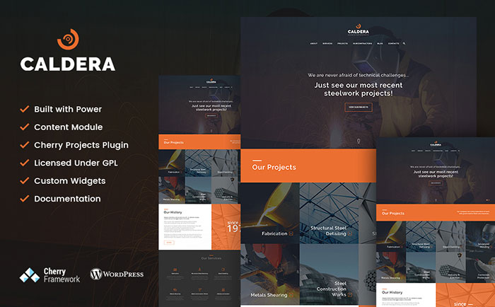 Steelworks WordPress Theme