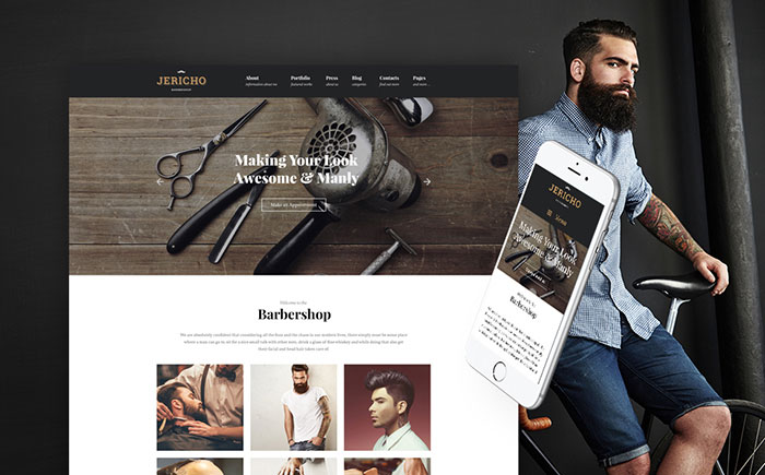 Barber Shop WordPress Theme