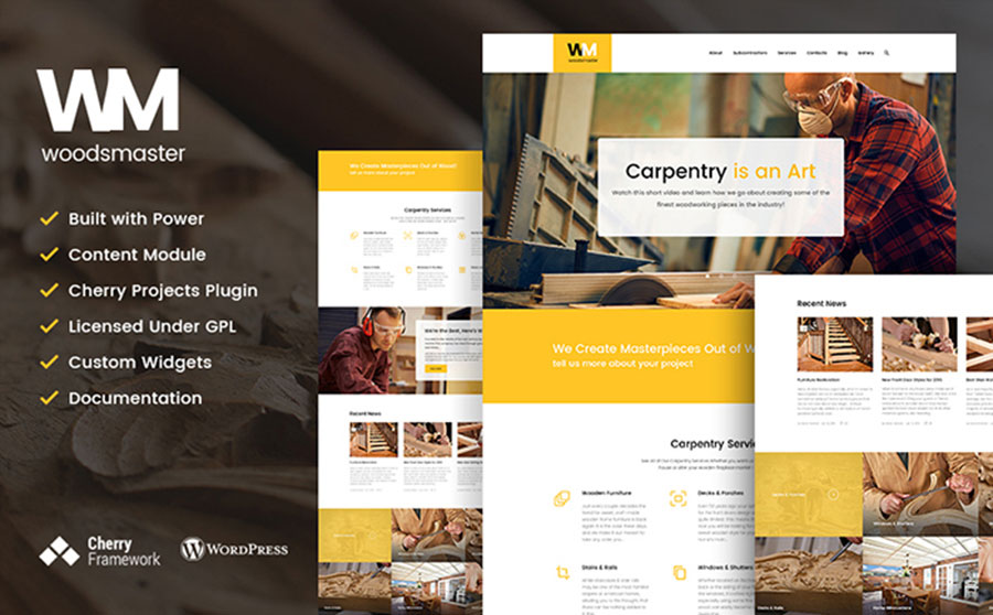 nd Hobbies WordPress Theme