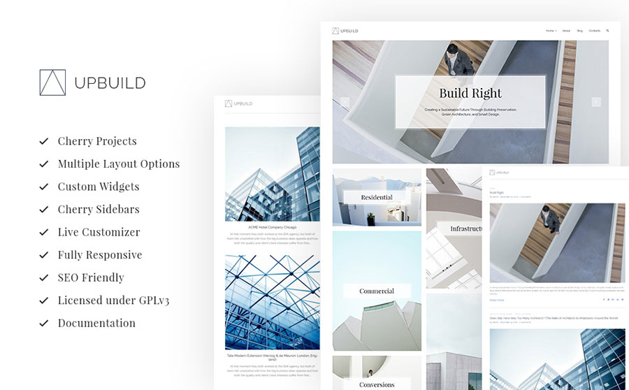Architecture Firm WP Theme
