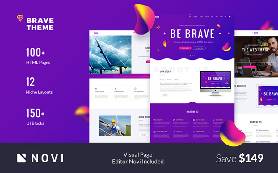 sponsive Multipurpose Website Template