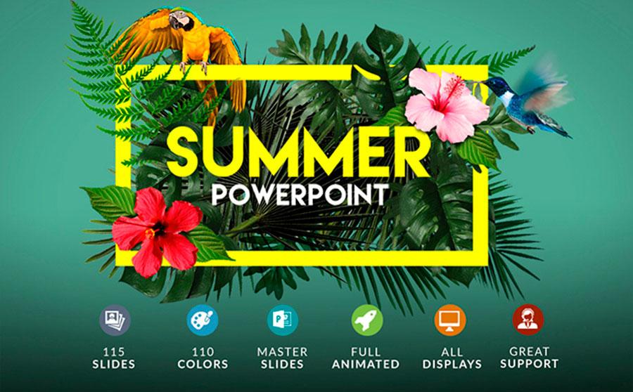 Powerpoint + Bonus PowerPoint Template