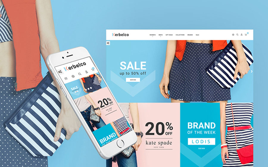 - Handbag store PrestaShop Theme