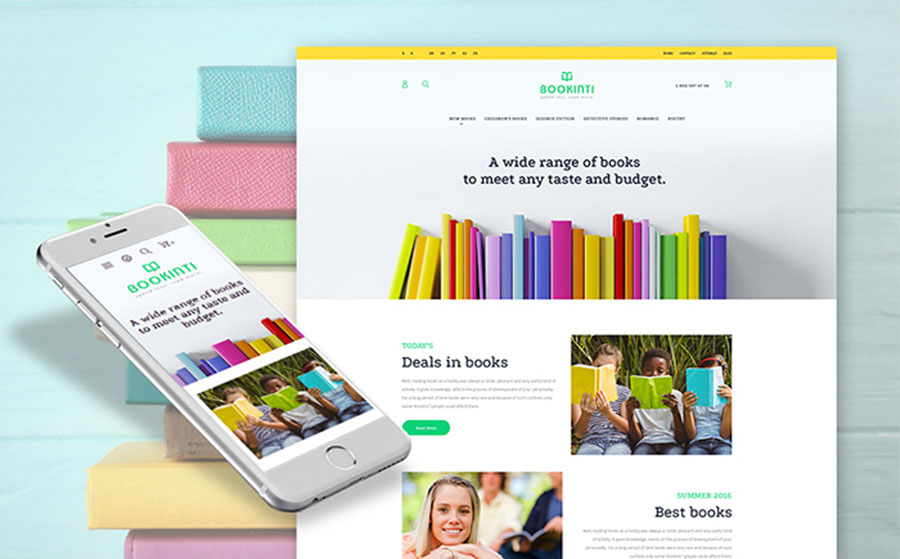 - Book Store PrestaShop Theme