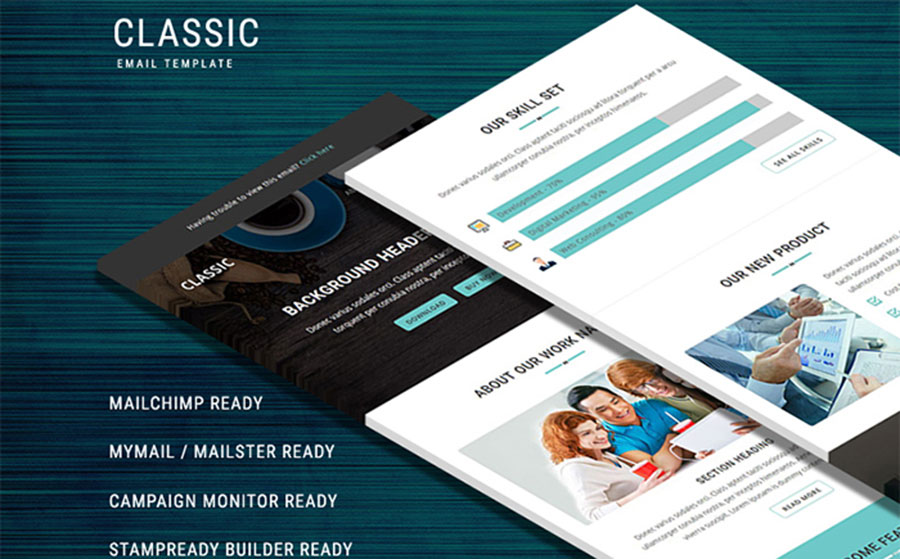 - Responsive Email Template Newsletter Template